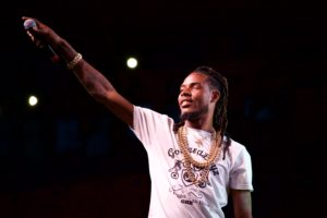 "Fetty Wap closed out Back to the Brook with ""Trap Queen."" ARACELY JIMENEZ/THE STATESMAN"