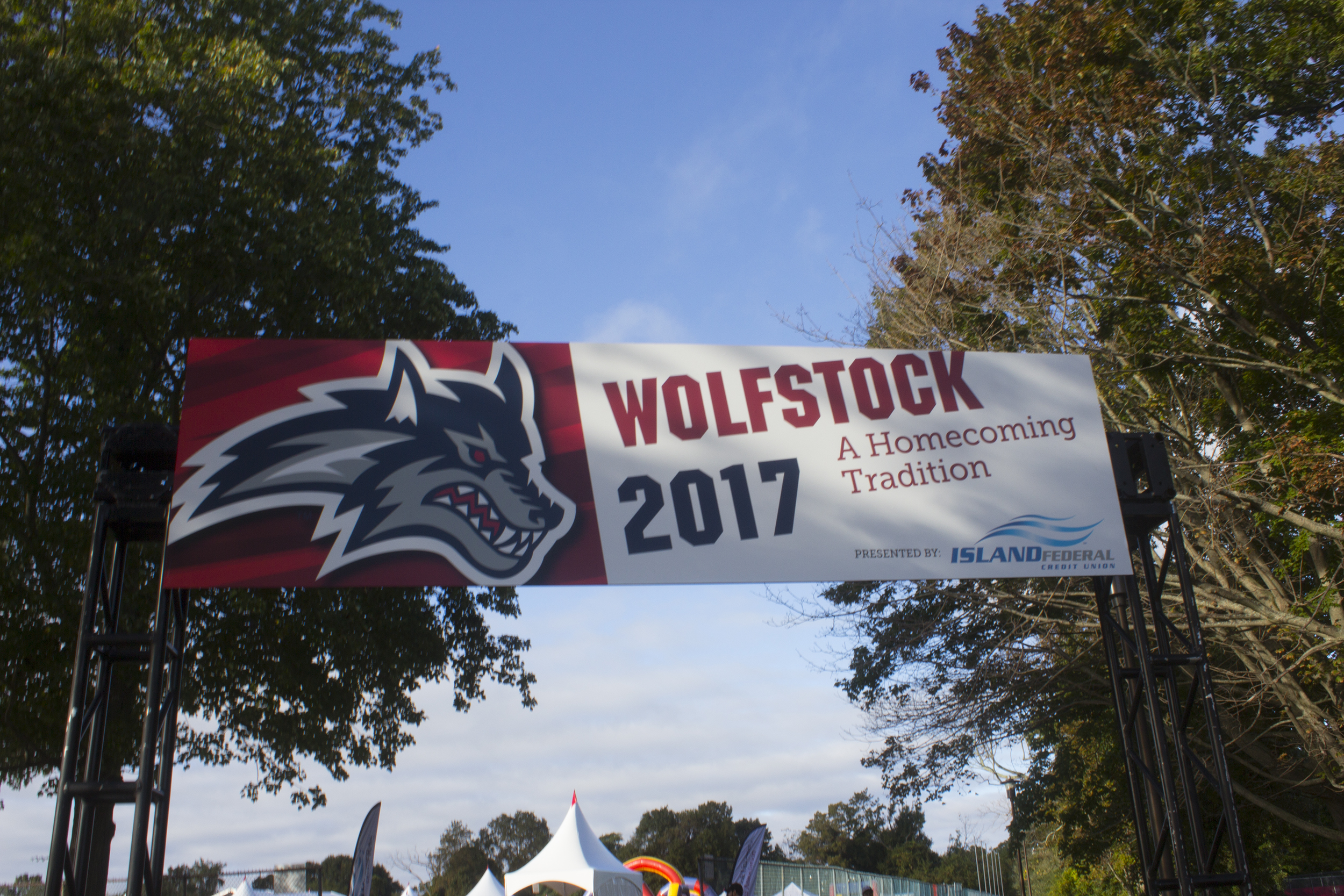 Homecoming celebrations continued on Saturday afternoon with Wolfstock Village. ANNA CORREA/THE STATESMAN
